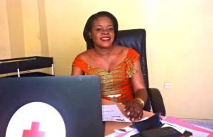 Emmanuelle MITANTA MAKUSU,première femme Secrétaire Général à la Croix-Rouge de la RDC