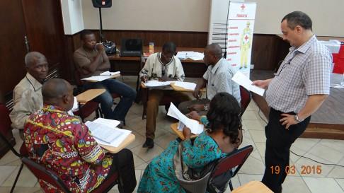 Grâce au soutien du CICR, la Croix-Rouge de la RDC  renforce les capacités de ses communicateurs