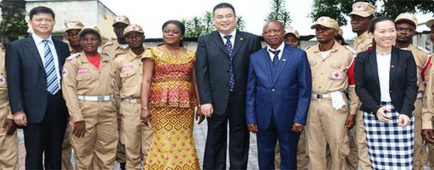 CROIX-ROUGE CHINOISE ET CROIX-ROUGE/RDC : RENCONTRE SOUS L'EGIDE DE LA COOPERATION /CICR EN PERSPECTIVE D'UN PARTENARIAT EFFICACE EN FAVEUR DES VULNÉRABLES DE LA RDC