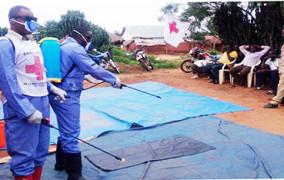La Croix-Rouge Maniema, déterminée à lutter contre le choléra dans 8(huit) zones de sante ciblées dans la ville de Kindu