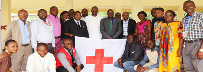 ATELIER SUR LA COMMUNICATION EN SITUATION D'URGENCE GRACE AU PARTENARIAT ENTRE LA CROIX-ROUGE DE LA RDC ET LA CROIX-ROUGE CANADIENNE