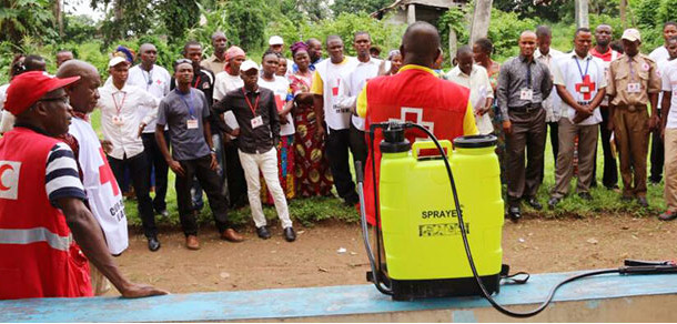 Lutte Contre Ebola : L'action de la Croix-Rouge de la République Démocratique du Congo sur terrain