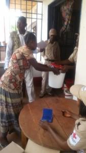Assistance des refoulés Congolais d'Angola