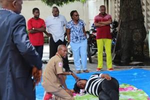 Formation en Premier Secours des partis politiques en R.D.Congo