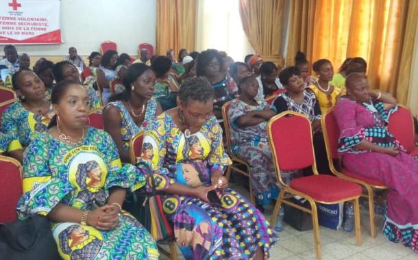 Célébration de la Journée Internationale des droits de la femme.