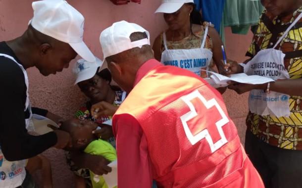 Lancement officiel de la Campagne de vaccination contre la Poliomyélite et la Rougeole à Kinshasa
