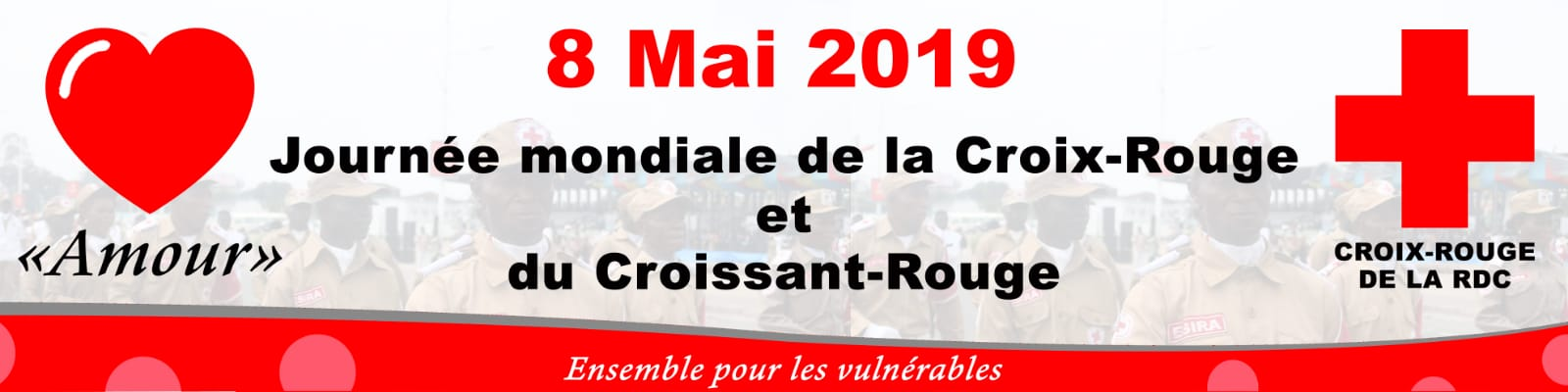 8 MAI 2019, MESSAGE DU PRESIDENT NATIONAL