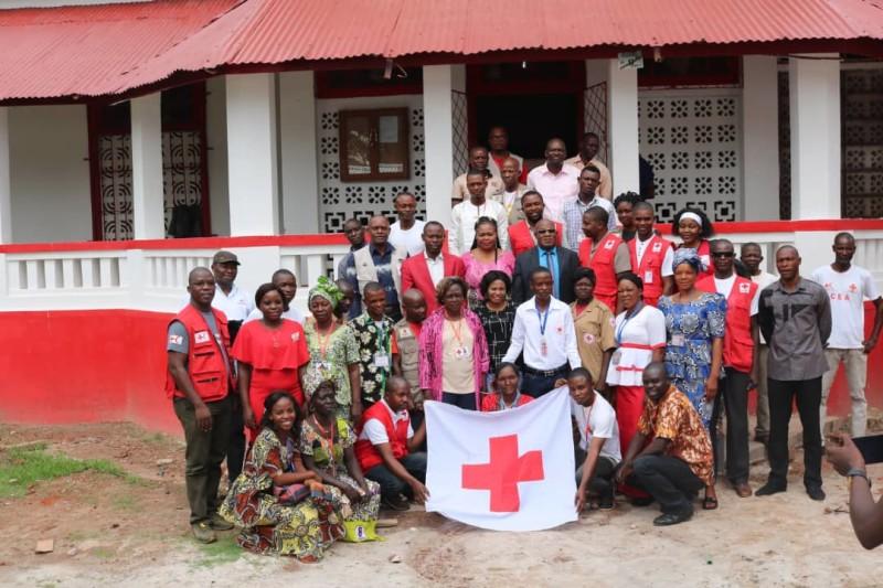Formation des équipes  de réponse rapide aux urgences de la Croix-Rouge de la RDC