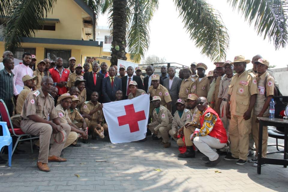 Causerie école du Président National de la Croix-Rouge de la RDC avec tous officiers généraux secouristes
