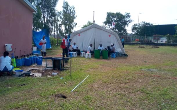 La Croix-Rouge de la RDC en première ligne de front dans la riposte contre le COVID-19