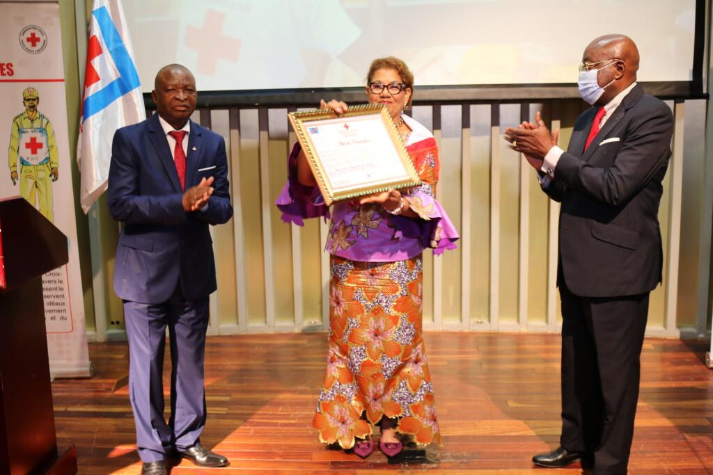 Une autre Ambassadrice de la Croix-Rouge de la RDC