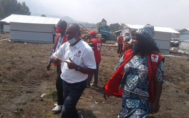 VISITE DU PRESIDENT NATIONAL DE LA CROIX-ROUGE RDC A GOMA